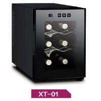 供应煊霆小型红酒柜XT-01 家庭小型简约现代红酒柜 金属机械制作 16L