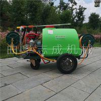志成果树园林植保机械手推式高压喷雾器地面清洗机