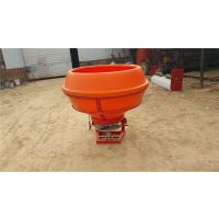 全新颗粒化肥抛撒机塑料桶不锈钢单盘撒肥机 悬挂式后置施肥机