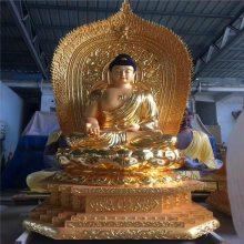 玻璃钢佛像雕塑厂家,树脂道教神像塑造生产工艺厂,三宝佛