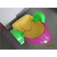 中号手摇船设备最低多少钱 夏季产品手摇船水上设备 儿童双人水上手摇船