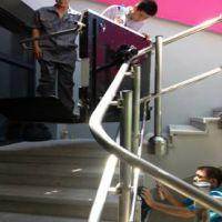 别墅楼道爬升机价格 衡阳市 随州市斜挂式轮椅升降机启运直销无障碍平台