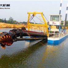 绞吸式清淤船型号 绞吸挖泥船工作原理