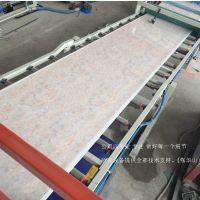 供应PVC仿大理石板生产设备 专业生产厂家青岛卓亚机械
