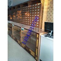 广东省佛山药店货架定做厂家收款台大药房中药柜百子柜货架多角度拍摄细节图