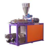 1小时可生产1000公斤物料的生产型连续式密炼机,昶丰XLP130高填充物料EVA密炼机