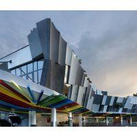 西安高档建筑外墙装饰迪科铝单板、型号按图纸定制、幕墙主体绿色环保防火