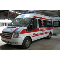 江铃福特新世代V348中顶运输型救护车多少钱