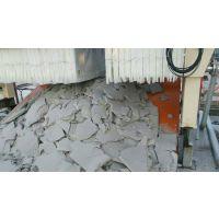压滤机污泥处理现场