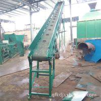 供应整袋面粉输送机 大倾角装完输送 中天