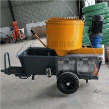 新型砂浆喷涂机的操作原理及功能