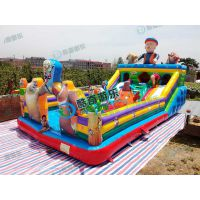 充气玩具、儿童充气蹦蹦床熊出没款式特价