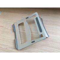 提供东莞安若五金 铝合金板 笔记本支架 精密五金模具设计与制造钣金件冲压件加工