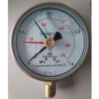 无锡科佳三针耐震定位压力表