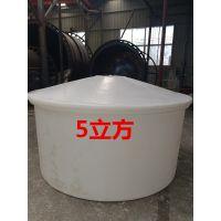 江浙沪厂家批发5立方塑料圆桶 发酵桶 PE全新料食品级耐酸碱防腐蚀