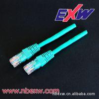 厂家热销 六类/超五类网络跳线,水晶头镀金50U