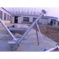 化工原料绞龙提升机 粉煤灰用u型输送机 高产低耗能输送机