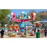 户外儿童游乐园定制热销旋转升降摇头桑巴气球逍遥水母游乐设备