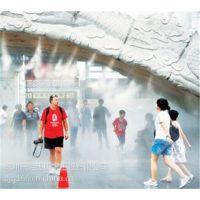 江苏苏州南京假山水池人造雾旅游景区雾景观工程
