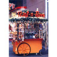 直销商业街木质甜品屋 饰品售卖屋 美食小吃手推车