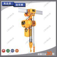 厂家直销 运行式 环链电动葫芦2吨 电动葫芦2t 双链