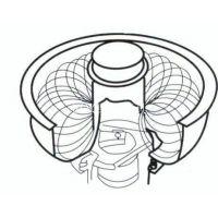 维修380V各类振动滚桶流动磁力研磨机包PU胶.