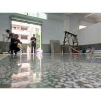 惠州洲际工业园厂房水磨石翻新、水磨石固化、旧地面起灰处理
