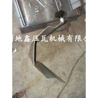地鑫龙骨机设备 整体中板伺服跟踪不停机剪切龙骨机