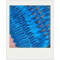 福瑞德 蓝色高阻燃聚酯纤维防尘网现货联系:15131879580