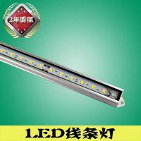 南宁夜景亮化LED线条灯户外照明生产厂家明可诺因为专业所以专注
