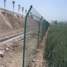 双边丝护栏网 优质铁丝围栏网 园林区隔离栅