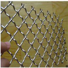 东北钢轧花网 编织疙瘩网 筛沙网
