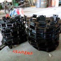 定制废纸打包机链条 碳钢大节距链条价格 乾德机械设备厂家