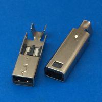 NDSI长体焊线公头/游戏机插头/线端充电专用/带长尾线夹