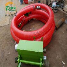 柴油机带吸粮机 化肥颗粒输送机 饲料厂专用抽料机