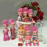 小玩具赠品迷糊娃娃巴比娃娃泡泡浴蛋糕素体烘焙模具甜品台多款