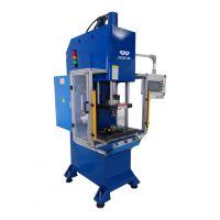 什么是数控液压机,精密伺服油压机,可定制不同型号的冲床