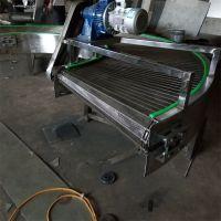 山东强盛厂家制作不锈钢带式转弯机 180度不锈钢网链式转弯输送设备