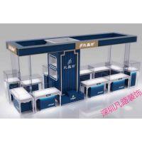 厂家高档定制奢侈品展柜商场新款玻璃柜台展示柜订做珠宝展柜金属