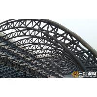 山东管桁架厂钢结构加工厂家-三维钢构