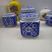 景德镇瀚澜陶瓷专业生产陶瓷罐子 密封储蓄膏方瓷瓶厂家