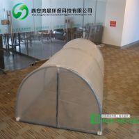 鸿晨热销便携式家用隧道暖房可移动迷你塑木大棚