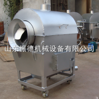 振德机械生产供应60型多功能滚筒卧式小型炒货机 碳加热炒货机