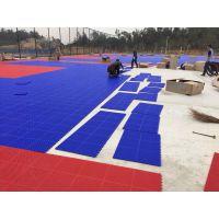 石家庄悬浮拼装运动地板 篮球场