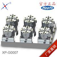 厂家批发3R精密定位夹具 erowa夹具 D100型CNC6头气动卡盘