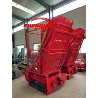 玉米秸秆自走式青贮机厂家 圣隆牌青贮机加工