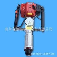 低油耗汽油动力打桩机 手提便携式钢管打桩机 工地施工钢筋打桩机