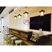 江门手写立式教学板J东莞咖啡餐厅黑板J磁性挂式小黑板
