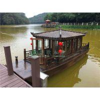 供应山东日照4.8米~16米画舫游船 水上观光船 水上船餐厅