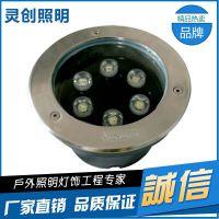 湖北武汉LED水底灯演绎光能智慧-灵创照明